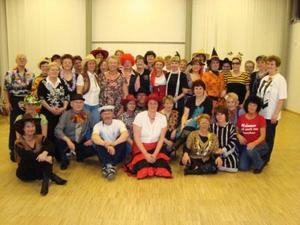 Country-Line-Dance-Gruppe