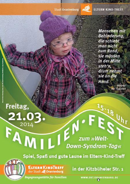 Familienfest aus Anlass des »Welt-Down-Syndrom-Tages« 2014