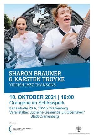 Sharon Brauner und Karsten Troyke